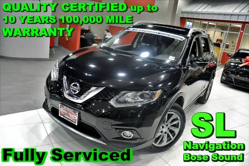 2014 Nissan Rogue SL - Fully Serviced - QUALITY CERTIFIED up to 10 YEARS 100,000 MILE WARRANTY Springfield NJ