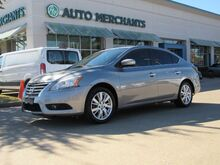 2014_Nissan_Sentra_SL  LEATHER SEATS, NAVIGATION SYSTEM, HEATED FRONT SEATS, SATELLITE RADIO, BLUETOOTH CONNECTION_ Plano TX