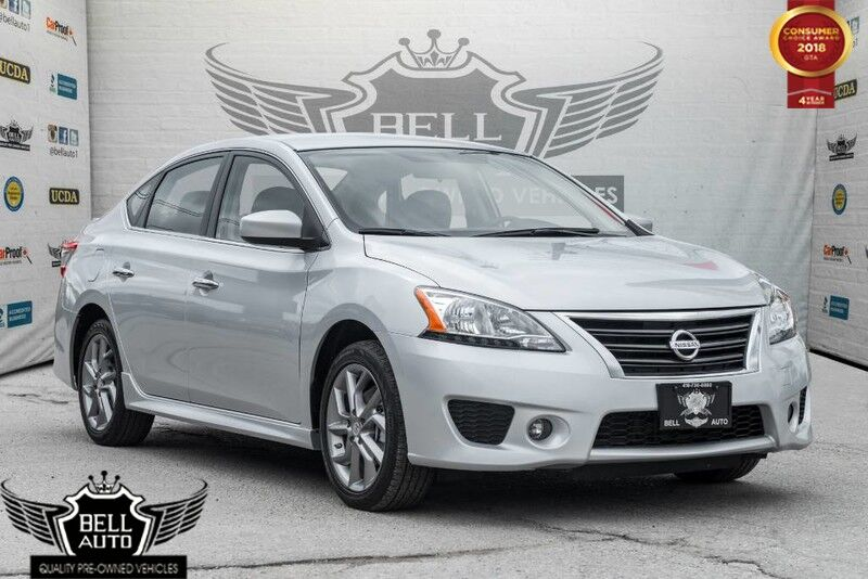 2014 Nissan Sentra SR BLUETOOTH PUSH TO START TRACTION CONTROL ALLOY WHEELS