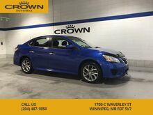 2014_Nissan_Sentra_SR **Rare Blue Color** Exclusive SR Body Kit** 1 Owner Lease Return**_ Winnipeg MB