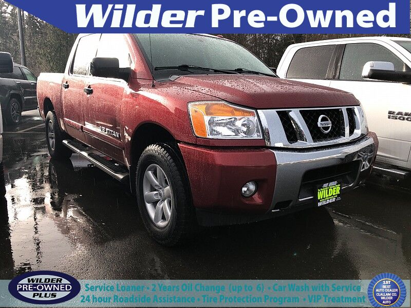 2014 Nissan Titan 4WD Crew Cab SV Port Angeles WA
