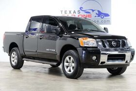2014_Nissan_Titan_SV CREW CAB 4WD AUTOMATIC REAR CAMERA BLUETOOTH POWER DRIVER SEAT CRUISE_ Carrollton TX