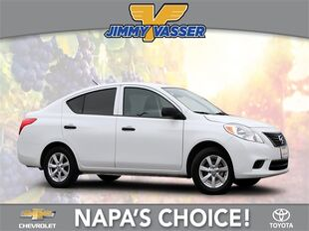 2014_Nissan_Versa_1.6 S_ Napa CA