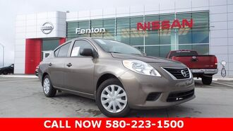 2014_Nissan_Versa_1.6 S Plus NISSAN CERT. PREOWNED- ONE OWNER CARFAX_ Ardmore OK