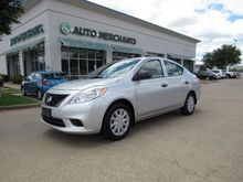2014_Nissan_Versa_1.6L 4CYL, 5-SPEED, MANUAL TRANSMISSION, A/C, BUCKET SEATS, REAR BENCH SEATS_ Plano TX