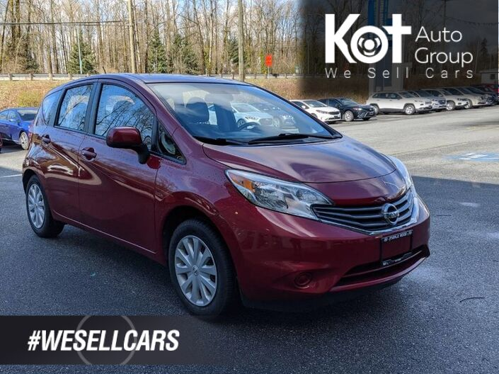 2014 Nissan Versa Note 5dr HB Auto 1.6 SV Maple Ridge BC