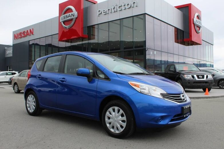 2014 Nissan Versa Note SV, Manual, No Accidents, Satellite Radio, Great on Fuel Kelowna BC