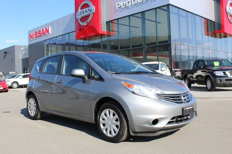2014 Nissan Versa Note SV, Manual, w/ Low Km's, and Good Fuel Efficiency Kelowna BC