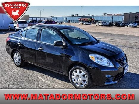 2014_Nissan_Versa_S Plus_ Lubbock & Wolfforth TX