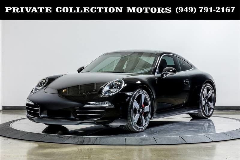 2014_Porsche_911_50th Anniversary Edition 6 Speed with only 900 Miles_ Costa Mesa CA