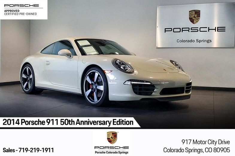 2014 Porsche 911 50th Anniversary Edition Colorado Springs CO