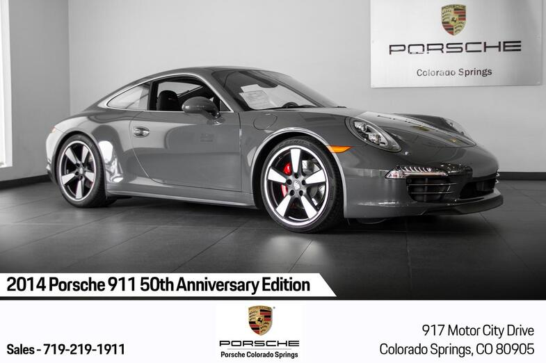 2014 Porsche 911 911 50th Anniversary Edition Colorado Springs CO