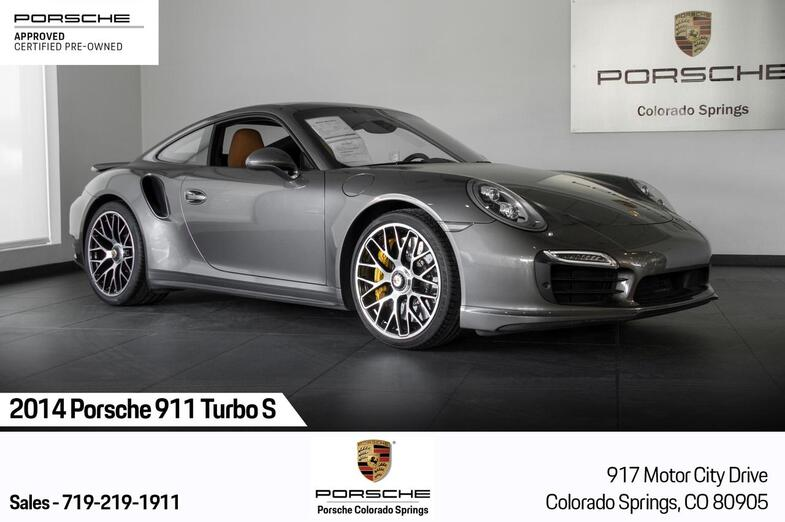 2014 Porsche 911 911 Turbo S Colorado Springs CO