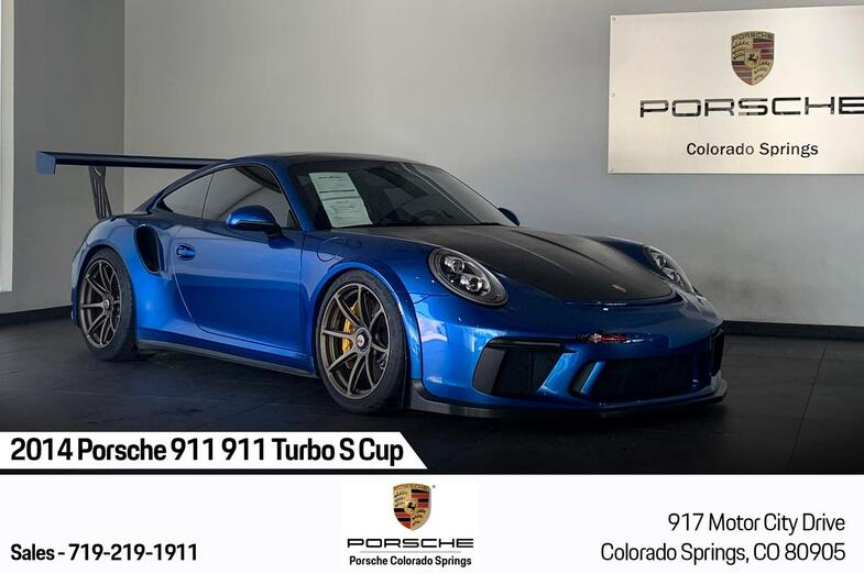 2014 Porsche 911 911 Turbo S Cup Colorado Springs CO