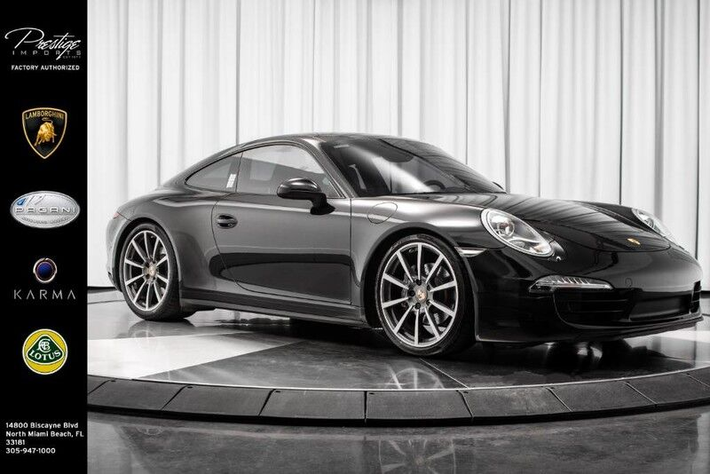 2014_Porsche_911_Carrera 4_ North Miami Beach FL