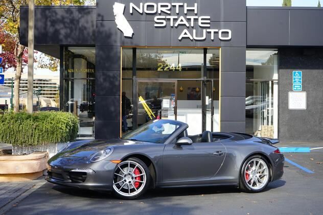 2014_Porsche_911_Carrera 4S_ Walnut Creek CA