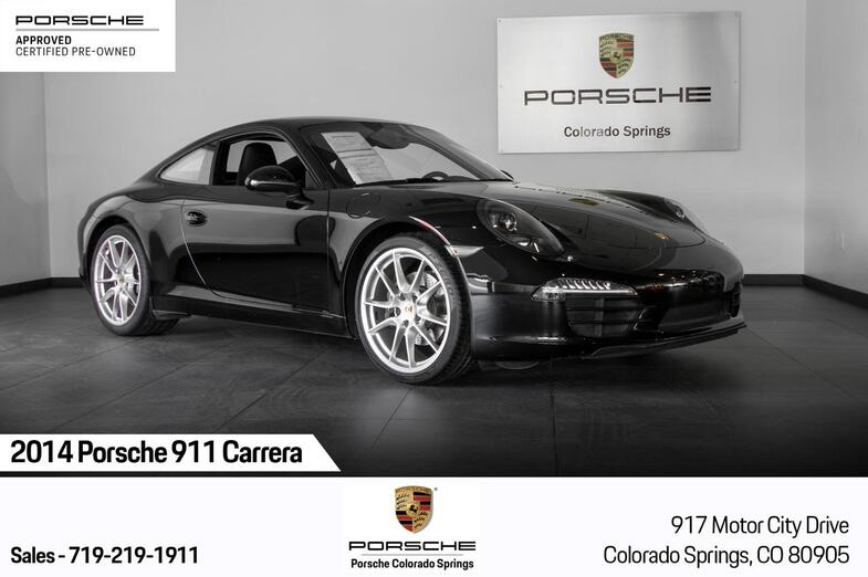 2014 Porsche 911 Carrera Colorado Springs CO