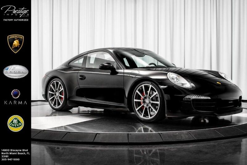 2014_Porsche_911_Carrera S_ North Miami Beach FL