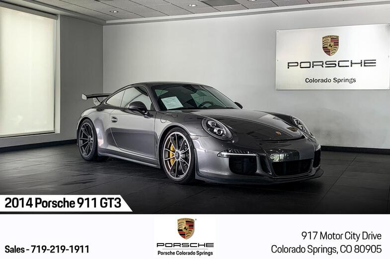 2014 Porsche 911 GT3 Colorado Springs CO