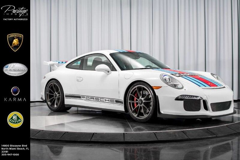 2014_Porsche_911_GT3 Martini Edition_ North Miami Beach FL