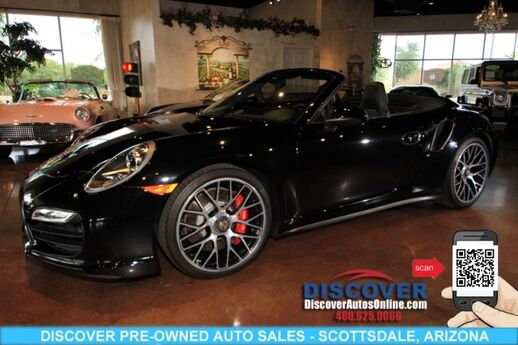 2014 Porsche 911 Turbo Cabriolet AWD Scottsdale AZ