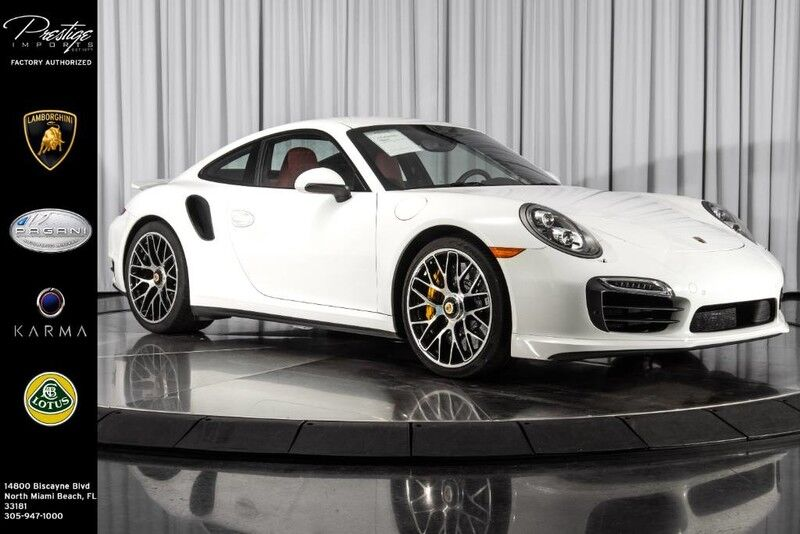 2014 Porsche 911 Turbo North Miami Beach FL