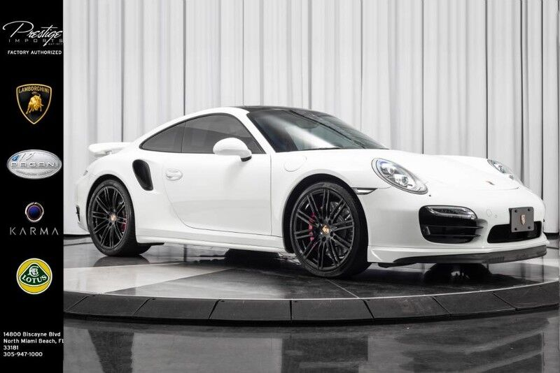 2014_Porsche_911_Turbo_ North Miami FL