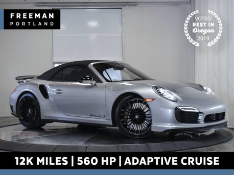 2014_Porsche_911_Turbo S Cabriolet 560 HP 12k Mi Adaptive Cruise_ Portland OR