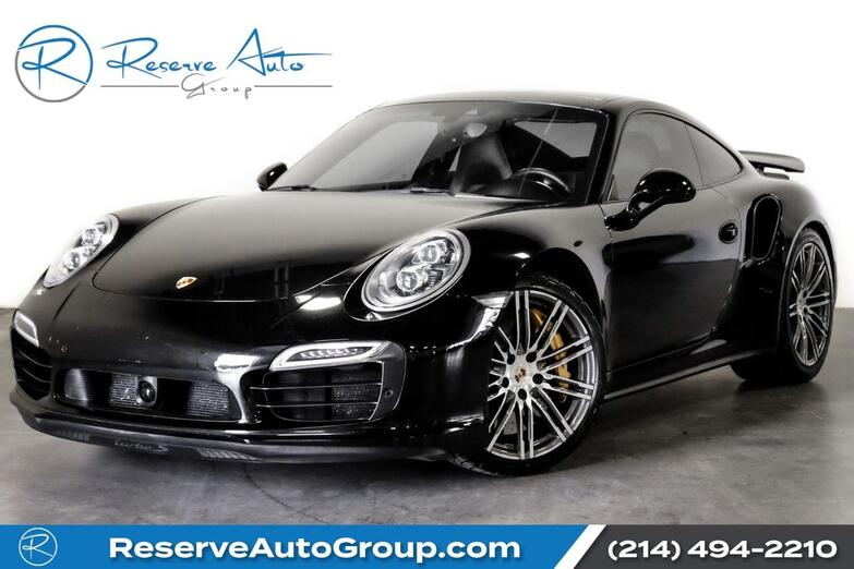 2014 Porsche 911 Turbo S Design Pkg Adaptive Cruise EntryDrive AC Seats The Colony TX