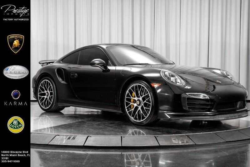 2014_Porsche_911_Turbo S_ North Miami Beach FL