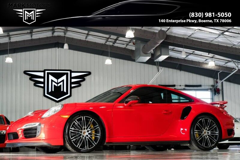 2014_Porsche_911 Turbo S_PDK - ELECTRIC SUNROOF - $190,880 MSRP_ Boerne TX