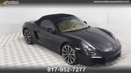 2014_Porsche_Boxster_S PADDLE SHIFTER,CONVERTIBLE ROOF,NAV/_ Euless TX