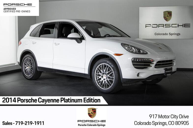 2014 Porsche Cayenne Cayenne Platinum Edition Colorado Springs CO