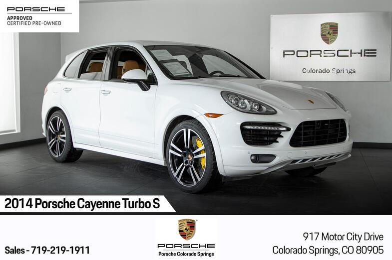 2014 Porsche Cayenne Cayenne Turbo S Colorado Springs CO