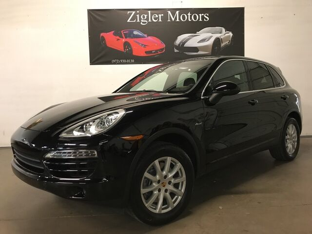 2014 Porsche Cayenne *Diesel* AWD low miles Panoramic Roof Navigation Rear view Camera Park Assist Addison TX