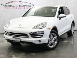 2014_Porsche_Cayenne_Platinum Edition / 3.6L V6 Engine / AWD / Panoramic Sunroof / Bl_ Addison IL