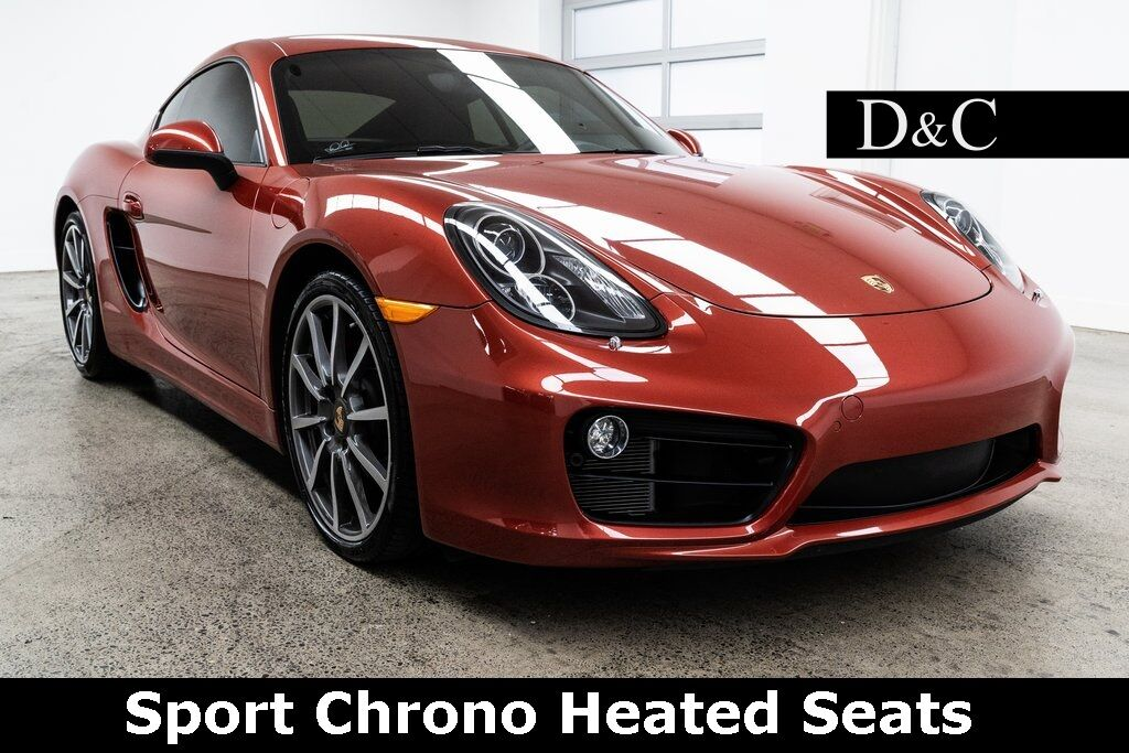 2014 Porsche Cayman S Sport Chrono Heated Seats Portland OR