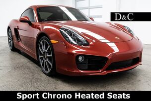2014 Porsche Cayman S Sport Chrono Heated Seats