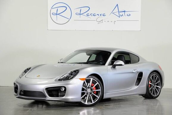 2014_Porsche_Cayman_S Sport Chrono Navigation_ The Colony TX