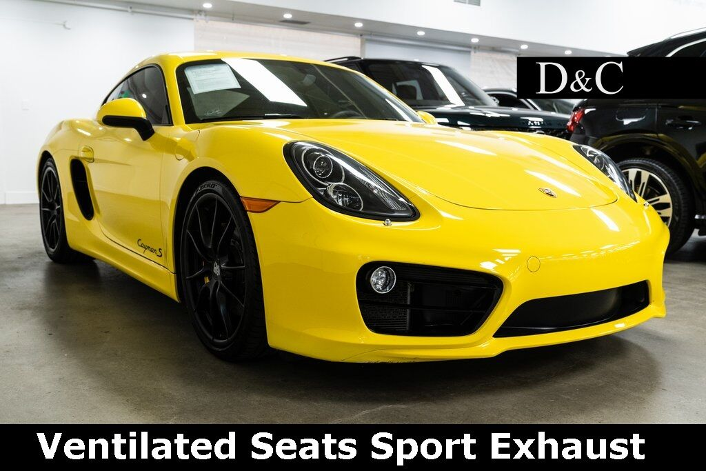 2014 Porsche Cayman S Ventilated Seats Sport Exhaust Portland OR