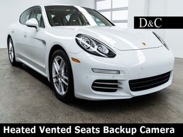 2014_Porsche_Panamera_4 Heated Vented Seats Backup Camera_ Portland OR