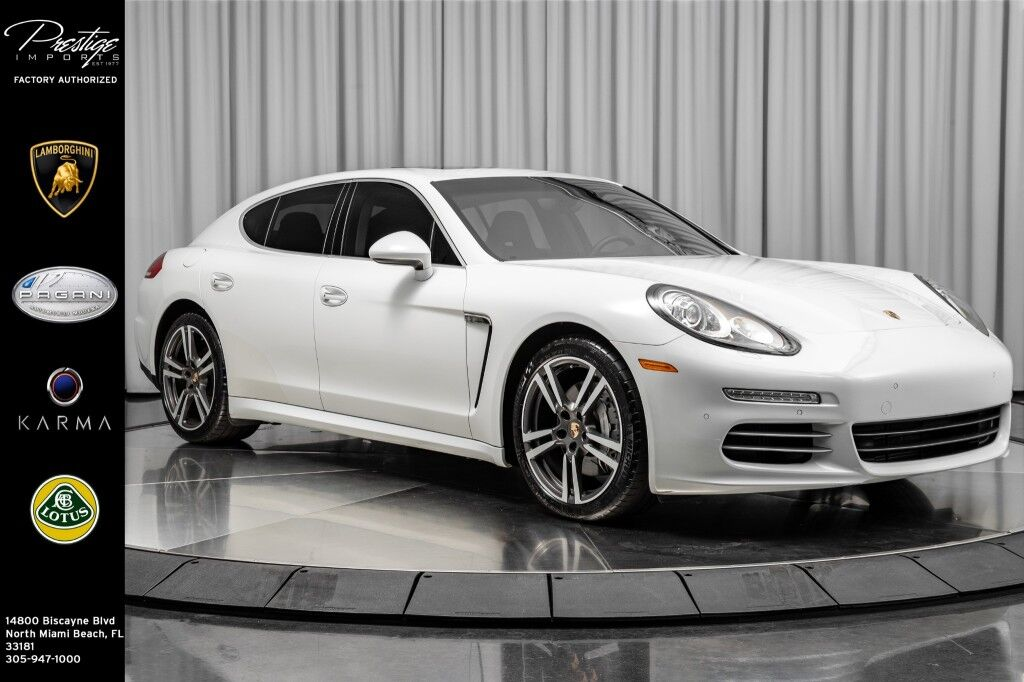 2014_Porsche_Panamera_4S_ North Miami Beach FL