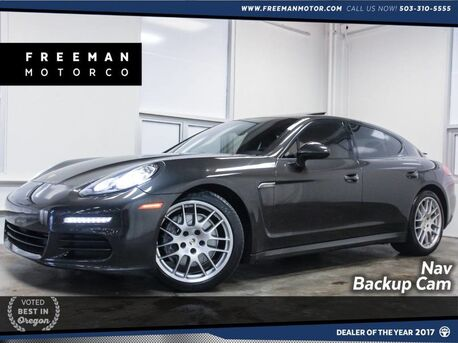 2014_Porsche_Panamera_Backup Cam Nav Heated Seats BOSE_ Portland OR