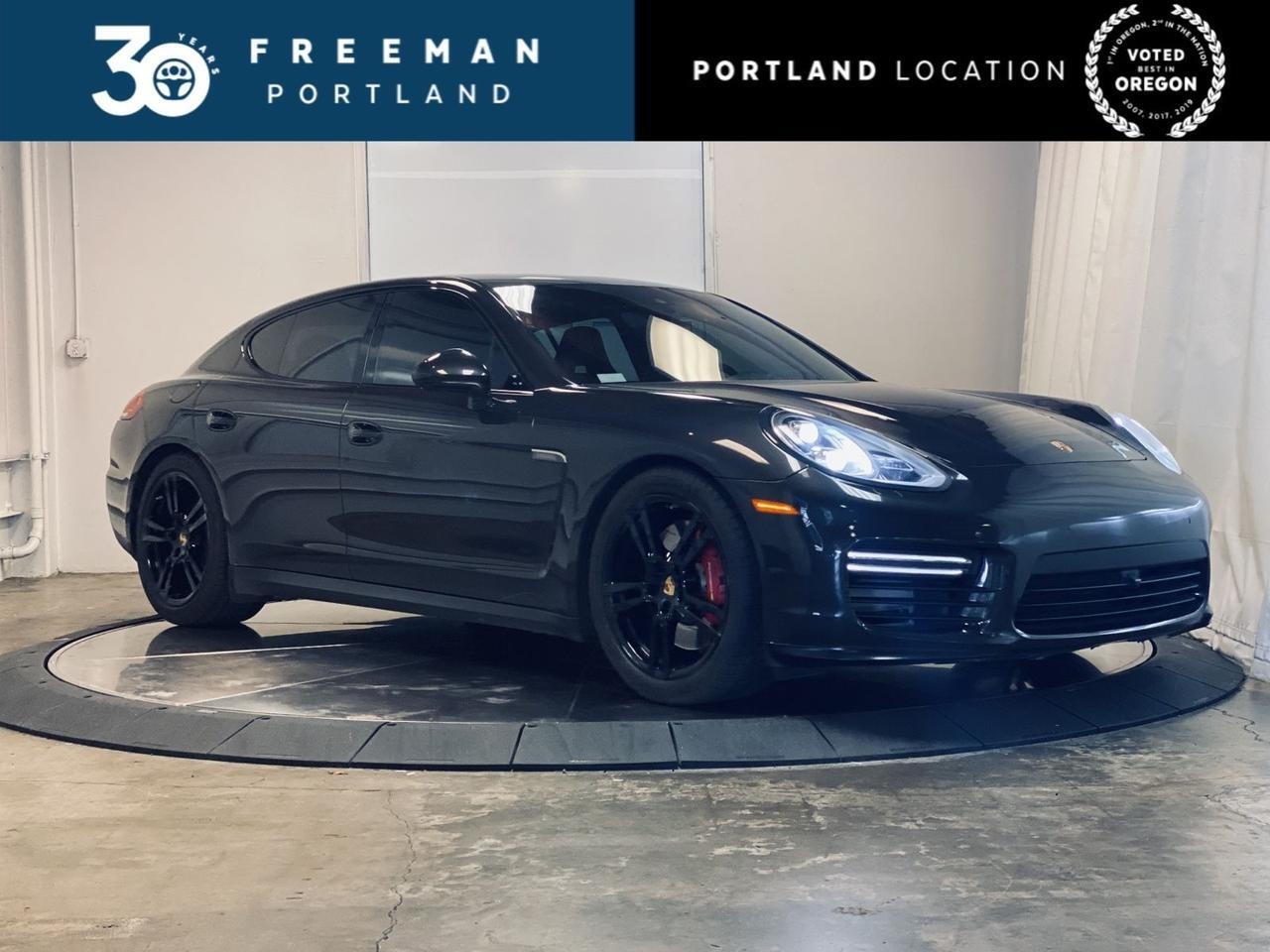 2014 Porsche Panamera GTS Red Interior Heated Seats Portland OR