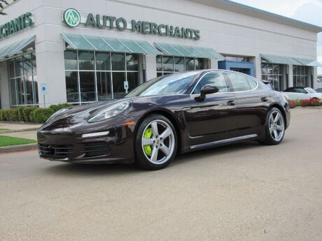 2014 Porsche Panamera Hybrid S E-Hybrid NAV, HTD/COOLED STS, BACKUP CAM, SUNROOF, BLUETOOTH, BOSE, SAT RADIO, PWR TRUNK Plano TX