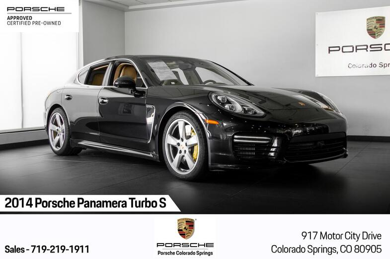 2014 Porsche Panamera Turbo S Colorado Springs CO