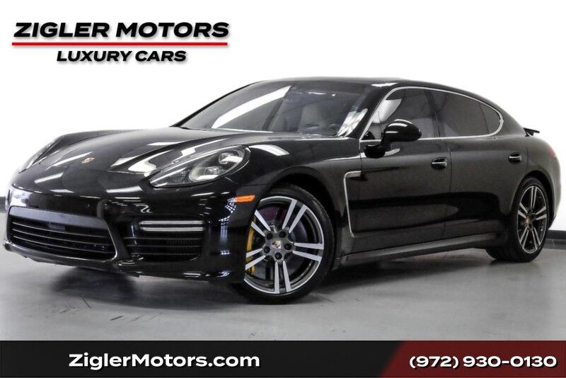 2014 Porsche Panamera Turbo S Executive $206K MSRP Clean Carfax Addison TX