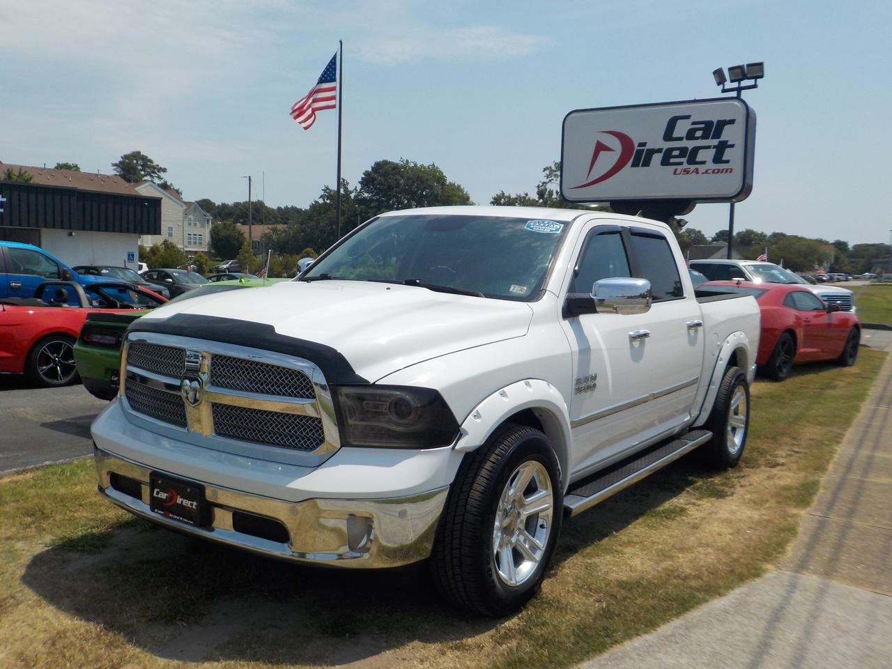 2014 RAM 1500 LONGHORN LIMITED CREW CAB 4X4, RUNNING BOARDS, NAVIGATION, PARKING SENSORS, HEATED & COOLED SEATS! Virginia Beach VA
