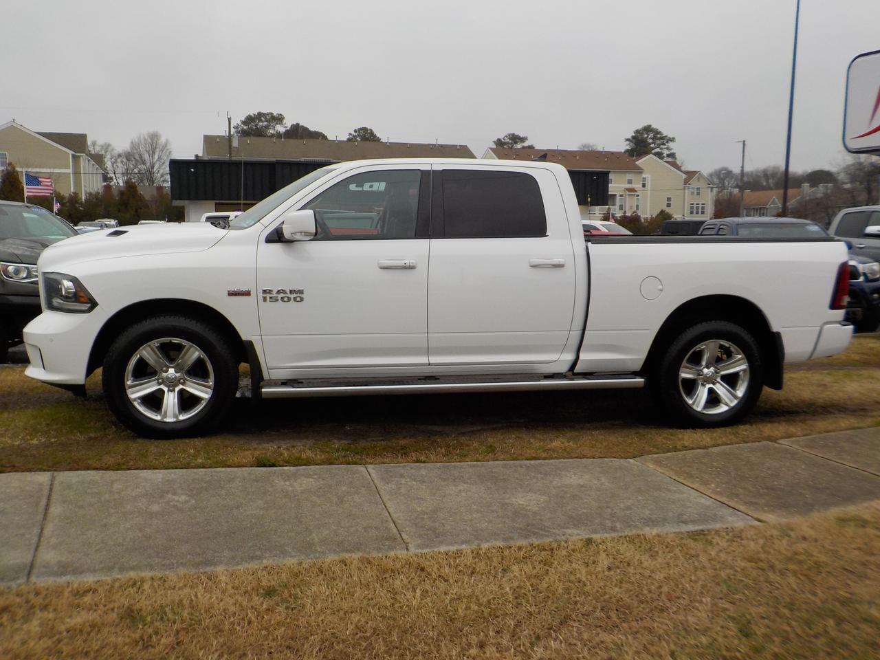 2014 RAM 1500 CREW CAB SPORT LONGBED HEMI 4X4, ONE OWNER, HEATED SEATS, NAVIGATION, HARD TONNEAU COVER, TOW PKG! Virginia Beach VA