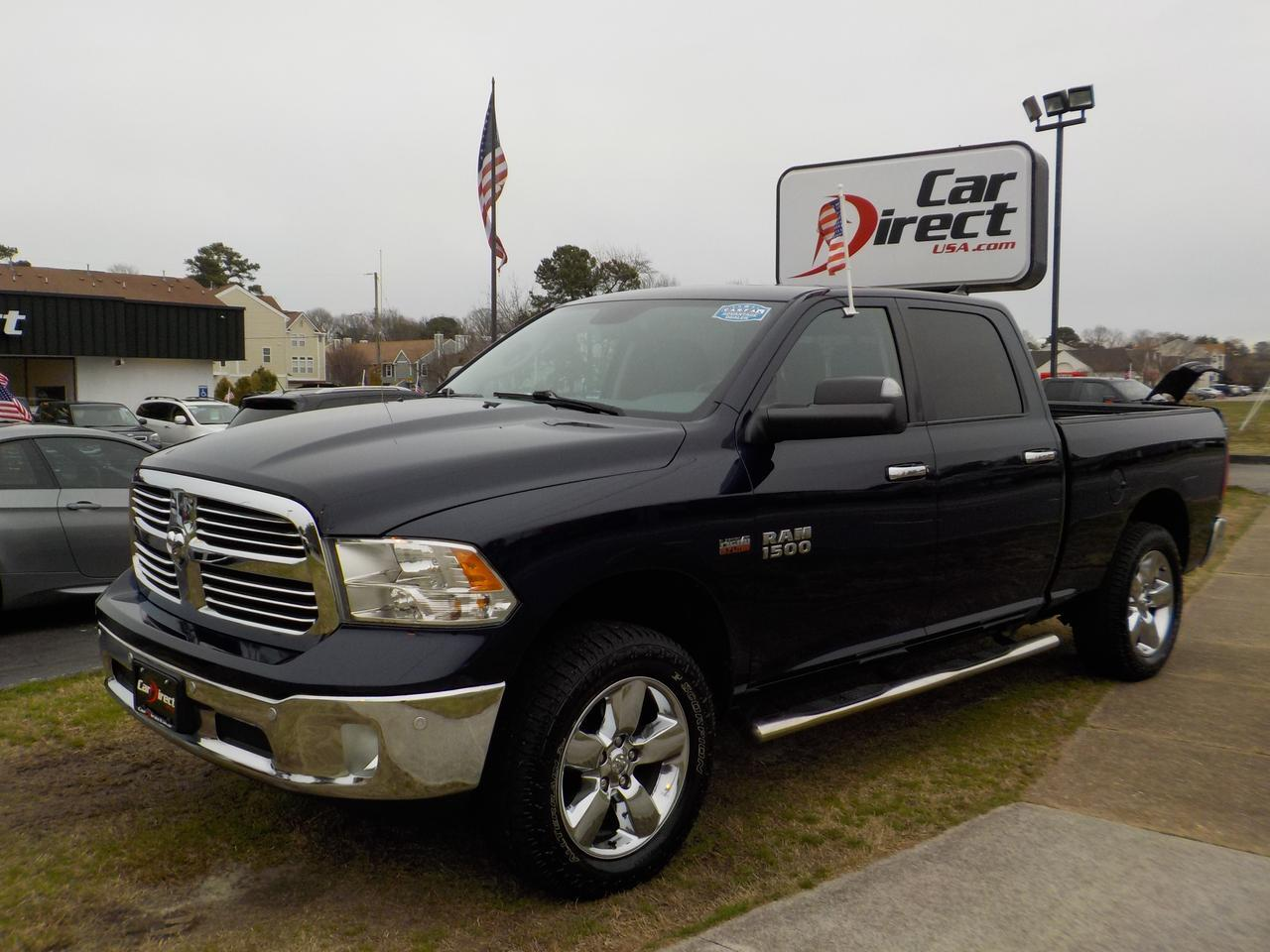 2014 RAM 1500 BIG HORN CREW CAB 4X4, WARRANTY, REMOTE START, PARKING SENSORS, RUNNING BOARDS, TOW, SUNROOF!
